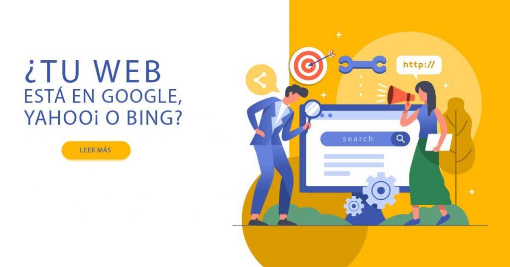 Tu Página Web está en Google